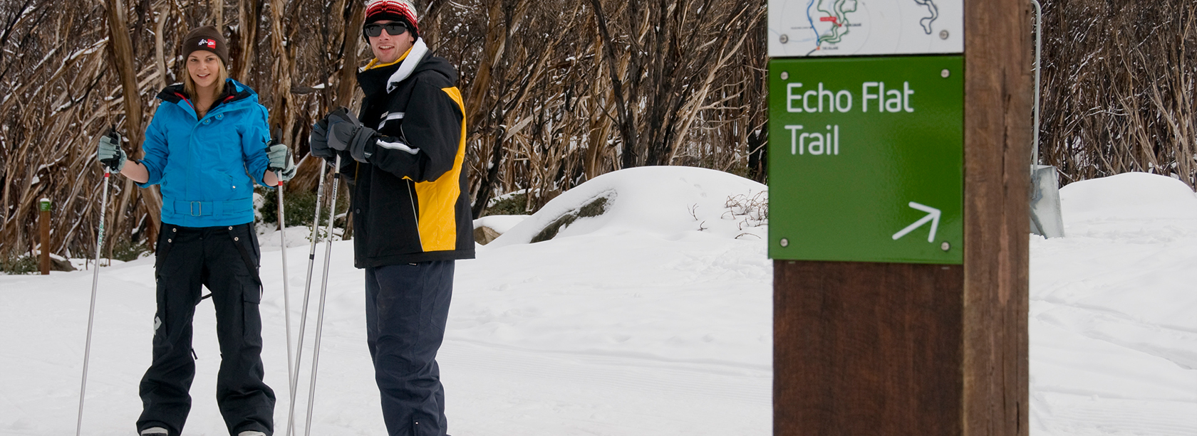 Lake Mountain experience Cross Country skiing